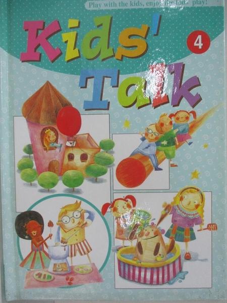 【書寶二手書T9/語言學習_BVR】Kids Talk英語養成計畫4