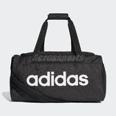 adidas 行李袋 Linear Core Duffel 小型 手提 肩背 黑 白 男女款 輕便 運動 【ACS】 DT4826