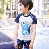 兒童泳衣男孩防曬速干分體泳裝男童小學生中大童泳褲寶寶溫泉泳衣 任選1件享8折