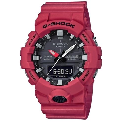 CASIO G-SHOCK/ 悍將勇士運動腕錶/ GA-800-4ADR