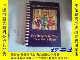 二手書博民逛書店英文原版(比較特別的精裝本):Any罕見Blonde Can C