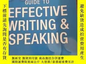 二手書博民逛書店Oxford罕見Guide to Effective Writing and Speaking: How to C