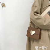 側背包上新質感小包包女新款時尚錬條小方包高級感洋氣側背斜背包聖誕交換禮物