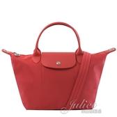 茱麗葉精品【全新現貨】 Longchamp Le Pliage Neo折疊厚尼龍兩用包.正紅#1512
