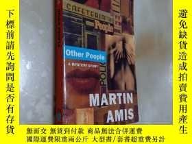 二手書博民逛書店OTHER罕見PEOPLEY12880 MARTIN AMIS penguin books 出版1981