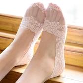 現貨 船襪女夏季蕾絲隱形襪短襪防滑網紗薄【極簡生活】