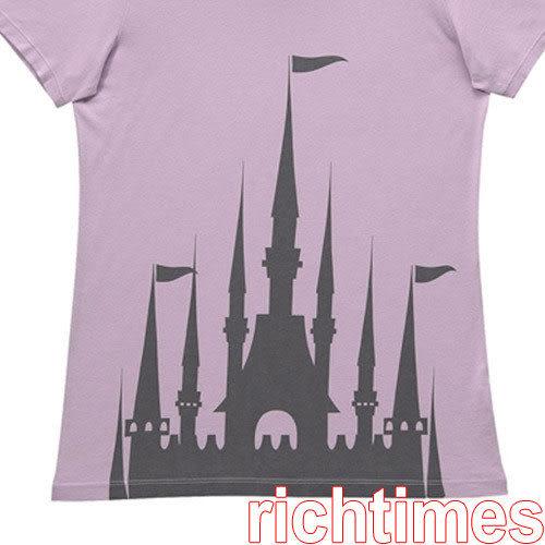 城堡圓領T恤(紫)~M   UQ3A2208