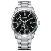 CITIZEN 星辰 動力儲存 機械錶 NB3001-53E 黑_40.5mm