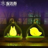 創意小夜燈插電床頭燈嬰兒喂奶燈觸碰感應小臺燈充電拍拍睡眠 魔法街