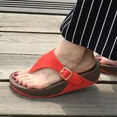女拖鞋 輕量時尚厚底夾腳拖鞋 CD-0125