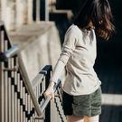 立領針織打底衫 文藝 修身 簡約 百搭 打底 長袖針織T恤/3色-夢想家-T1636-1018