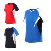MIZUNO 男羽球短袖T恤 (免運 羽毛球 短袖上衣 訓練 路跑 慢跑 美津濃≡排汗專家≡