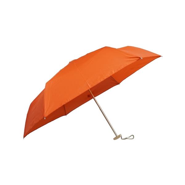 499 特價 雨傘 萊登傘 薄傘 扁傘 輕傘 口袋傘 手開三折傘 好攜帶 Leighton 抗UV 素色 (橘色)