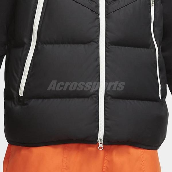 Nike 背心 NSW Down-Fill Windrunner Gilet 黑 白 男款 保暖 羽絨 運動休閒 【ACS】 CU4415-010