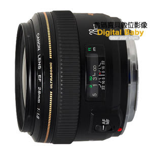 Canon EF 28mm F1.8 USM 廣角鏡頭 【送贈鏡頭三寶,公司貨】 28 1.8