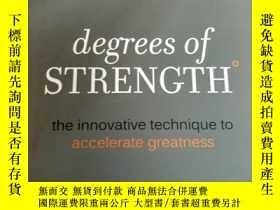 二手書博民逛書店degress罕見of strength the innovat