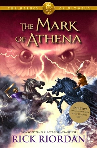 (二手書)Heroes of Olympus, Book Three: Mark of Athena