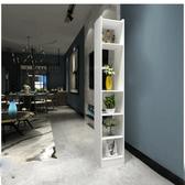 中式進門玄關柜隔斷客廳現代簡約鏤空入戶座屏雙面創意裝飾屏風柜