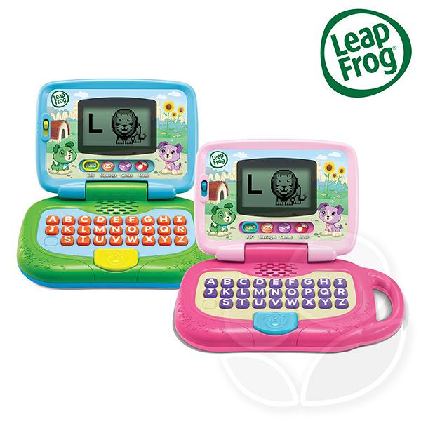 Leap frog 跳跳蛙 我的小筆電 (綠/粉)【佳兒園婦幼館】