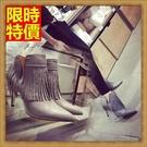 高跟短靴子新款氣質-性感精品女休閒鞋子2色66c4【巴黎精品】