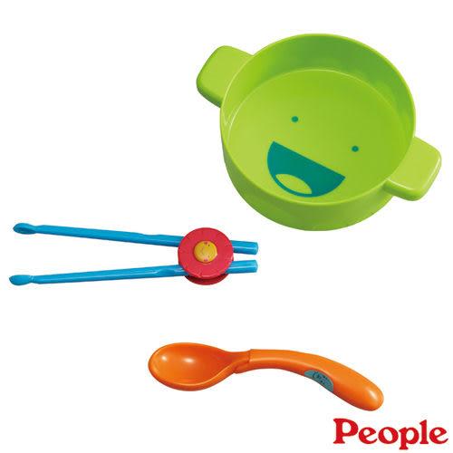 【奇買親子購物網】日本People 餐具學習玩具組