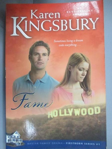 【書寶二手書T9/原文小說_CNI】Fame_Kingsbury, Karen