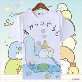 角落生物T恤可愛貓咪白熊企鵝炸豬排二次元動漫周邊短袖衣服童裝 寶貝計畫