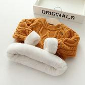 秋冬嬰兒童毛衣打底衫毛線針織衫寶寶套頭毛衫圓領男女童 森雅誠品