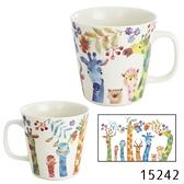 【日本製】FUN系列 陶瓷馬克杯 長頸鹿圖案 SD-6381 - 日本製