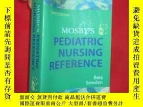 二手書博民逛書店Mosby s罕見Pediatric Nursing Refer