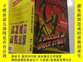 二手書博民逛書店A罕見Shocker on Shock Street 震驚街上的驚嚇Y200392