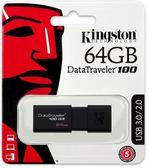全新 金士頓 Kingston DT100G3/64GB USB 3.0 隨身碟