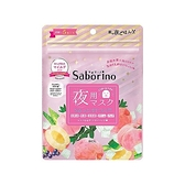 BCL Saborino晚安面膜(蘆薈蜜桃)5枚入【小三美日】