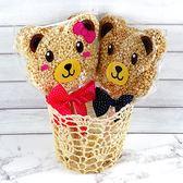 幸福婚禮小物❤婚禮熊米香---1組10入❤迎賓禮/二次進場/活動小禮物/送客禮/米香