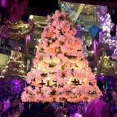 吊燈 繁花酒吧大空中花園櫻花音樂餐廳酒館仿真植物 現貨快出YJT