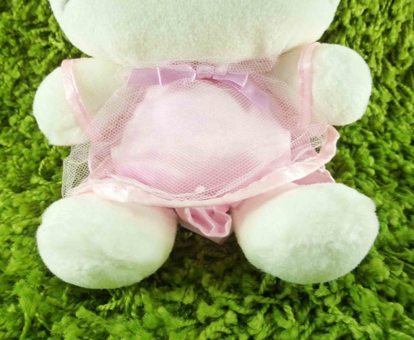 【震撼精品百貨】Hello Kitty 凱蒂貓~KITTY絨毛娃娃-粉頭花