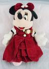 【震撼精品百貨】Micky Mouse_米奇/米妮 ~娃娃-米妮紅洋裝*47610