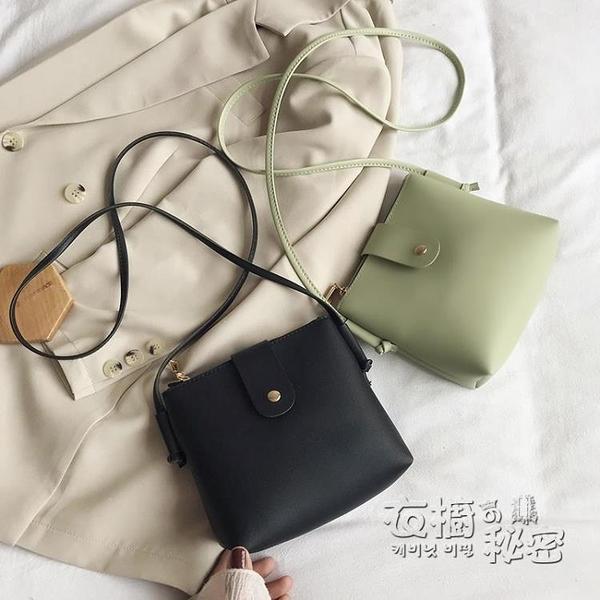 包包女2020新款手機包小包包簡約迷你小方包網紅小黑包單肩斜背包/側背包 雙十二全館免運