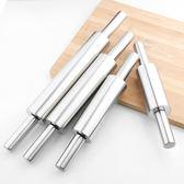 烘焙工具 不銹鋼搟面杖 滾軸式搟面杖棒