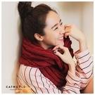 Catworld MIT 麻花紋粗針織圍脖【18003139】‧F