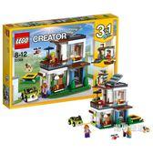 優惠兩天-樂高積木樂高創意百變系列31068現代獨棟別墅LEGOCreator積木玩具xw