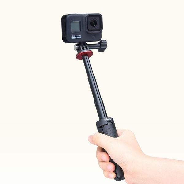 ULANZI MT-09 GoPro口延長三腳架 收納長度: 13cm 手機 微單 自拍桿 自拍架 直播 便攜