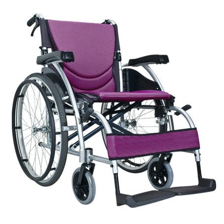 康揚 舒弧105.2 紫色 輪椅 (單台) 約重13.6公斤,座寬18 ,補助【杏一】
