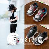 新款兒童鞋子童鞋女童運動鞋跑步鞋休閑鞋學生鞋潮-奇幻樂園