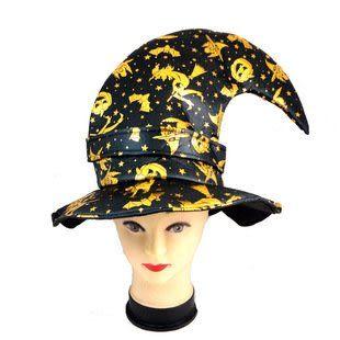 南瓜彎頭巫師帽