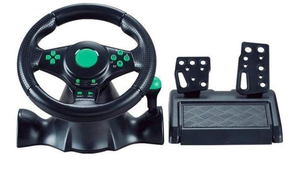賽車遊戲方向盤仿真模擬駕駛BOX360 PS3 PC【藍星居家】