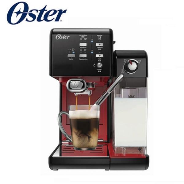美國OSTER 頂級義式膠囊兩用咖啡機送oster電動磨豆機