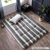 床墊1.0米單人雙人褥子墊被學生宿舍海綿榻榻米床褥CY 印象家品旗艦店