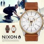 NIXON THE SENTRY CHRONO 42mm/男女兼用/軍事風格/A405-2548 現貨+排單!