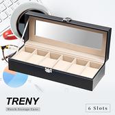 TRENY 6位 手錶收納盒 - 經典皮革